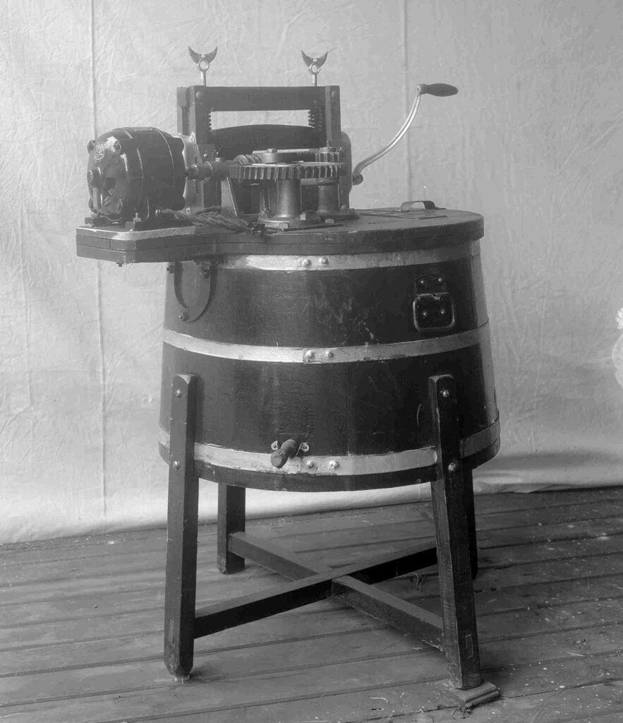 Velo Wasmachine Motor Geschiedenis